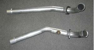 "Picture of 2 ¼"" Down Tubes For Cast Iron Manifolds - WITHOUT catalytic converters"