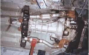 "Picture of 2 ½"" Down Tubes For Mid-Length Headers - WITH hi-flow catalytic converters"