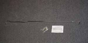 Picture of Universal Chrome Prop Rod for Fiberglass Hoods