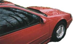 Picture of SCP Cowl Style Fiberglass Hood - Fits '94-95 Thunderbirds
