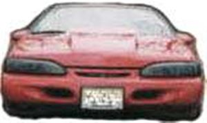 Picture of SCP Cowl Style Fiberglass Hood - Fits '91-95 Cougars