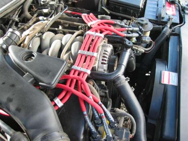 Spark Plug Wire Set-ThunderCore PRO fits 93-96 Lincoln Mark VIII 4.6L-V8
