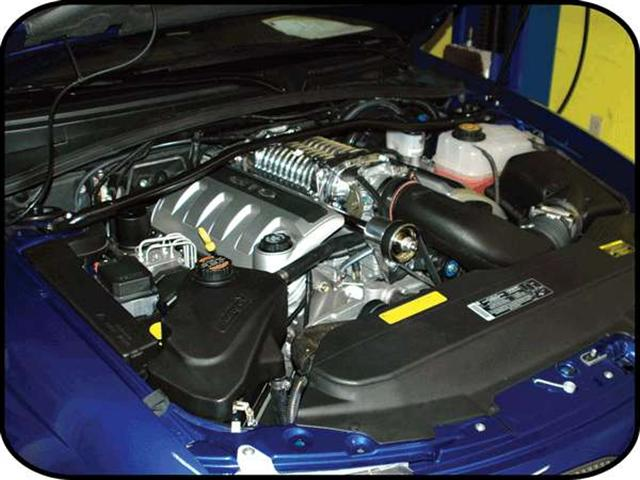 Picture Of 2004 Gto Supercharger Kit Silver Finish