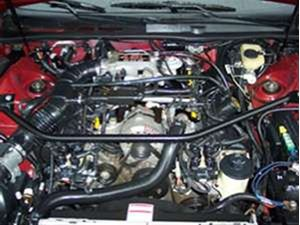 Picture of GROUP BUY:  Strut Tower Brace For The 4.6L SOHC Engine