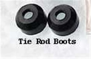 Picture of Front Outer Poly Material Tie Rod Boots - Pair