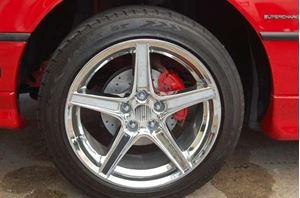 "Picture of On Back Order - Chrome Saleen SpeedStar Wheels 18 x 9"" - 5 x 4.25"""