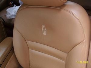 Picture of Mark VIII Supreme Leather Seat Reupholstery Kit - Front/Back, One or TWO Colors with 2 Logos