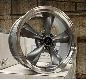 """Picture of ON BACK ORDER:  Bullitt Style Wheel 18 x 9"""" - 5 x 4.25"""""""