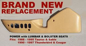 Picture of Drivers Side Seat Trim Panel - Beige